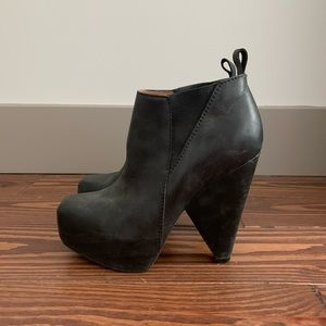Jeffrey Campbell Triangle Booties